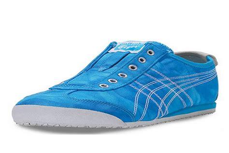 onitsuka tiger mexico 66 slip on blue shoes d5n6n 4201