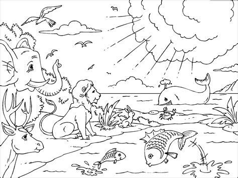 imagenes biblicas de la creacion la creacion para imprimir paracolorear net