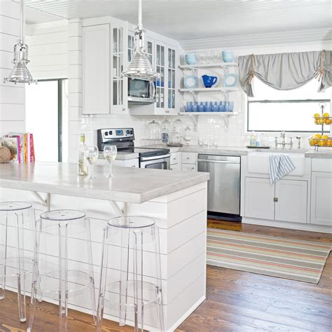 kitchen island wall white shiplap kitchen island 15 shiplap wall ideas for