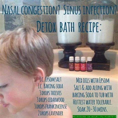Detox Bath Recipes For Allergies by 17 Best Images About Yl For Sinus On Sinus