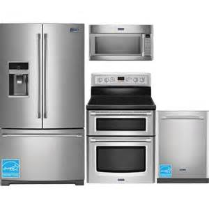 stainless steel kitchen appliances package maytag mft2574dem ss stainless steel complete kitchen