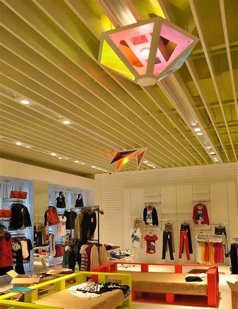 Shop Interior Lighting Bershka Shop Interior Decoration Lighting By Alex