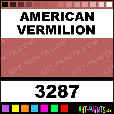 american vermilion superfine japan enamel paints 3287 american vermilion paint american