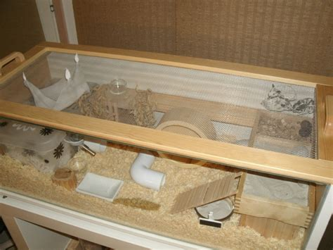 diy hamster cage how to make an ikea bookcase home for your hamster step