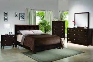 Bedroom Sets Wood Crown 4 Pc Alden Contemporary Finish Wood