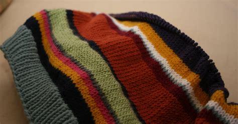 Nb Selimut 150x200cm Hello Ballerina Type 1 knit jones multi stripe