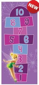 Tinkerbell Area Rug Tinkerbell Hopscotch Mat And Rugs For The Bedroom Or Play Area