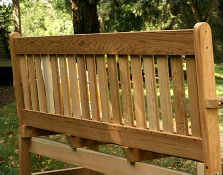 english garden benches red cedar english garden bench