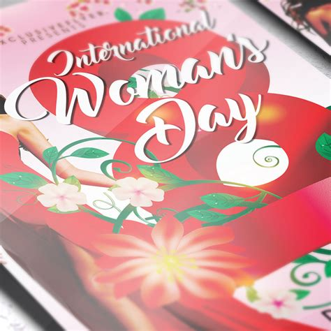 On Which Day S Day Is Celebrated Women S Day Celebration Premium Flyer Template