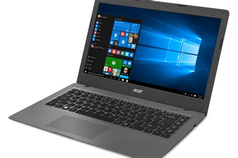 Laptop Acer One 14 Windows 10 acer s new windows 10 laptops arrive with chromebook like