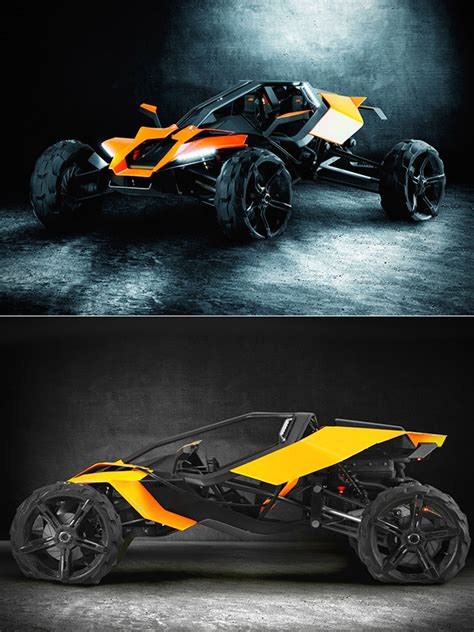 Ktm Supercar The Ktm Ax Buggy Concept