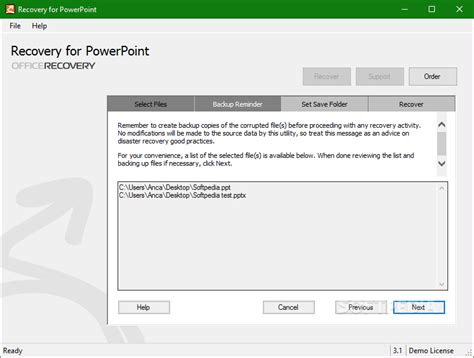 reset tool in powerpoint easy powerpoint recovery ppt munsoft recovery for