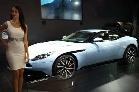 Aston Martin La by Aston Martin Est Absent Au Mondial 2016 Mais La Db11 Est