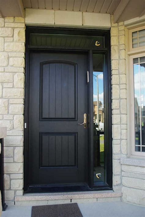 10 best exterior images on entrance doors front doors and front entrances entry executive fiberglass single solid front door with rustic and side light ransom installed