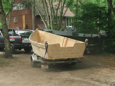ebay house boats lady bug boats 18 ft commercial plywood skiff plans ebay