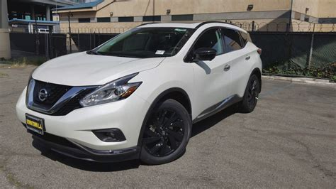 2017 nissan murano platinum midnight edition 2017 nissan murano midnight edition platinum in 4k youtube