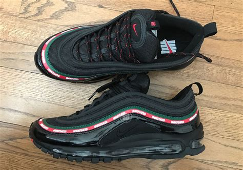 Undftd X Nike Air Max 97 Black undefeated x nike air max 97 sneakernews