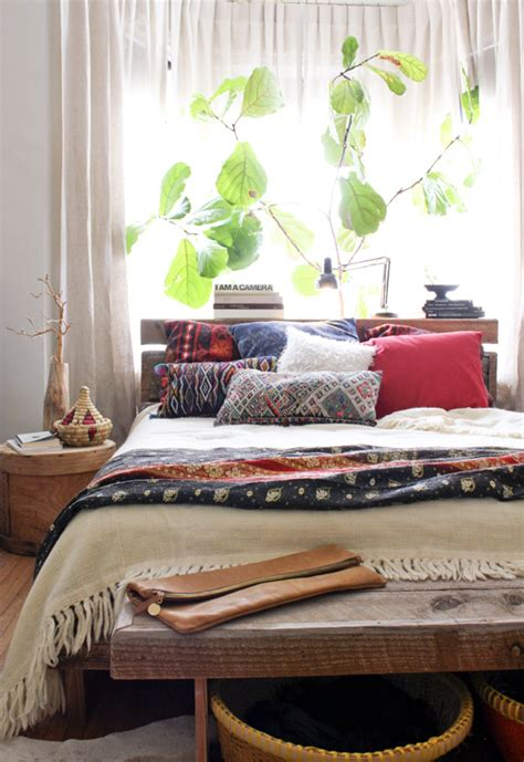 bohemian inspired bedroom moon to moon one room bright relaxing bohemian bedroom