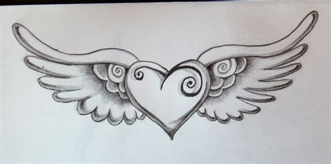 heart tattoo by zioman on deviantart