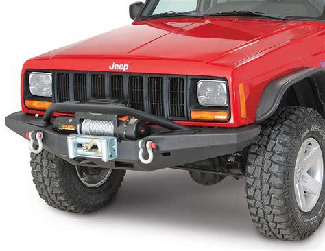 Jeep Xj Bull Bar Smittybilt Xrc Multi Optional Design M O D Front Bumper