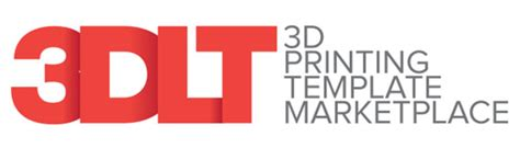 3d print templates new 3d printing template marketplace attempts to