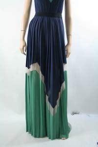 Dress Mekar Import 1 new bcbg maxazria kathrine pleated color block dress