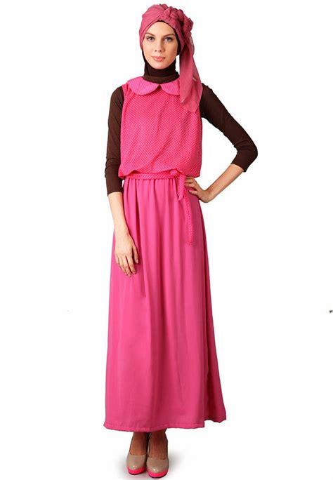 13 Model Baju Dress Muslim Modern Untuk Remaja Terbaru