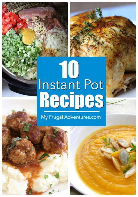 my instant pot recipes blank instant pot recipes cook book journal diary notebook cooking gift 8 5 x 11 blank instant pot ketogenic diet recipe notebook cooking gift series volume 1 books 10 instant pot recipes my frugal adventures