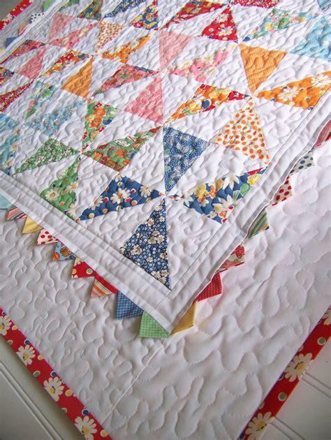 Pin Wheel Quilt by Pinwheel Baby Quilt 171 Moda Bake Shop