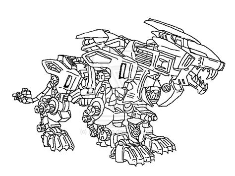 Liger Free Coloring Pages Liger Coloring Pages