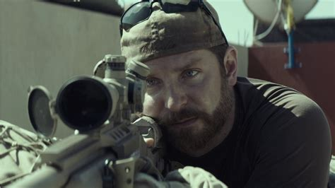 The American Sniper Bradley Cooper Anchors Clint Eastwood S Taut Flawed American Sniper Frontier