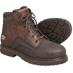 timberland steel toe shoes timberland pro powerwelt 6 quot h steel toe leather work boots