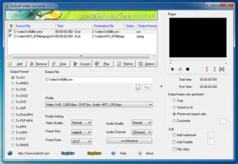all format video converter for windows 7 boilsoft video converter all in one video converter