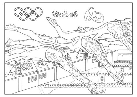 coloring pages olympic games 6 incredible rio 2016 olympic games coloring pages