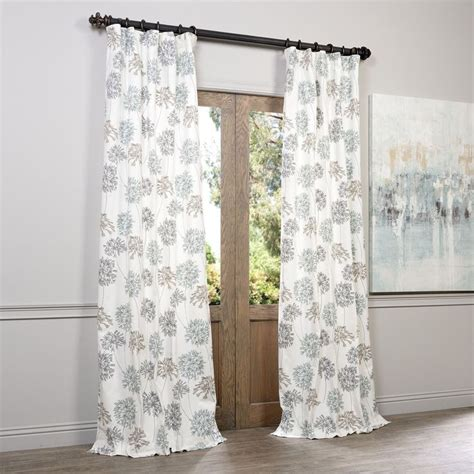 ivory and grey curtains 1000 ideas about blue and white curtains on pinterest