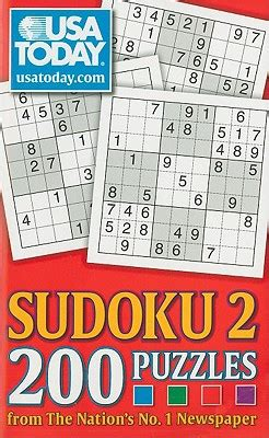 usa today crossword sudoku usa today sudoku 2 200 puzzles from the nation s no 1