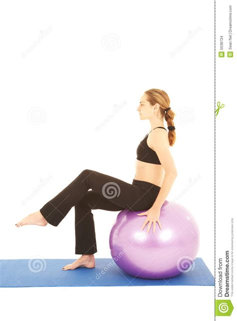 Pilates Mat Series by Pilates Exercise Series Stock Images Image 5538734