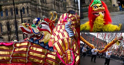 new year parade manchester 2015 thousands of revellers line the streets for new
