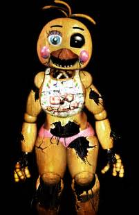 Five nights at freddy s withered toy chica by christian2099 d8eklfj