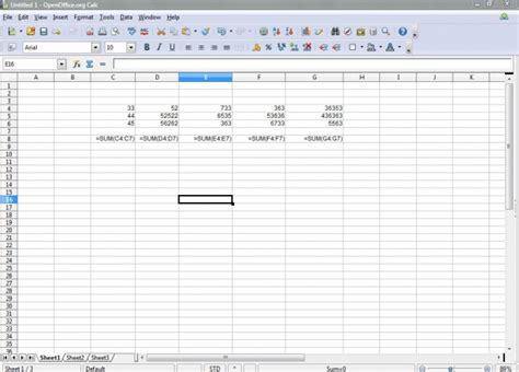 Open Office Spreadsheet Help by How To Show Formulas In Openoffice Calc Spreadsheet Cells