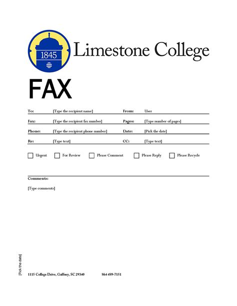 Limestone College Mba Cost by Printed Materials South Carolina Limestone College