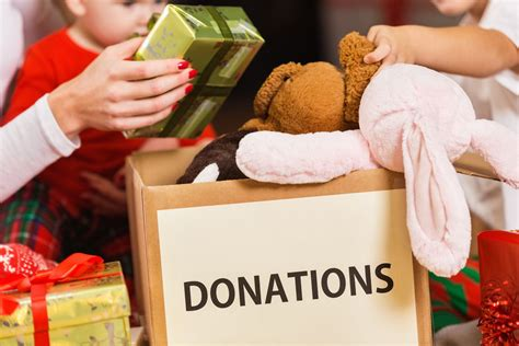 giving gifts for charity charitable giving tips for the holidays
