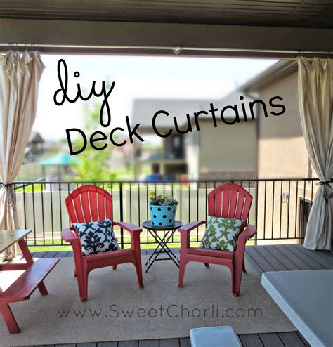 patio curtains diy diy outdoor deck curtains home diy pinterest awesome
