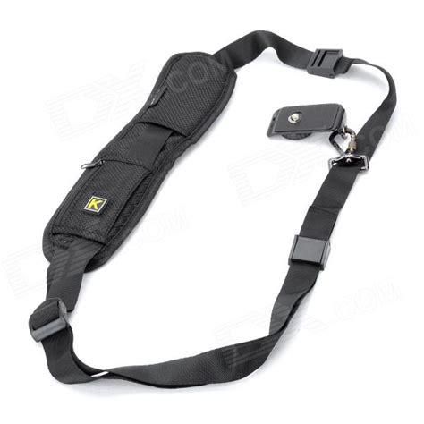 Belt For Dslr Caden Rapid Shoulder Neck caden rapid shoulder belt for all dslr black free shipping dealextreme