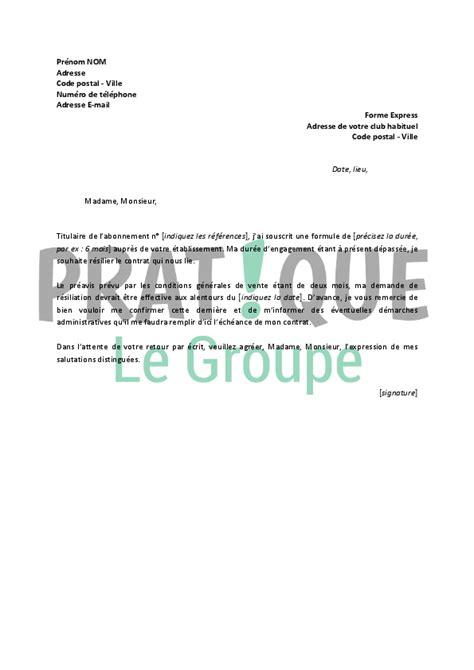 R Siliation Parking Lettre Lettre De R 233 Siliation Forme Express Pratique Fr