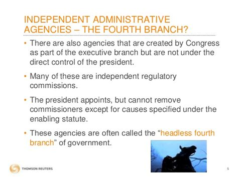 independent agencies of the united states government administrative law complete show3