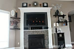 modern fireplace makeover modern fireplace makeover