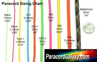 Which Is The Smallest Flower - paracord sizes amp buckle sizes paracordgalaxy com