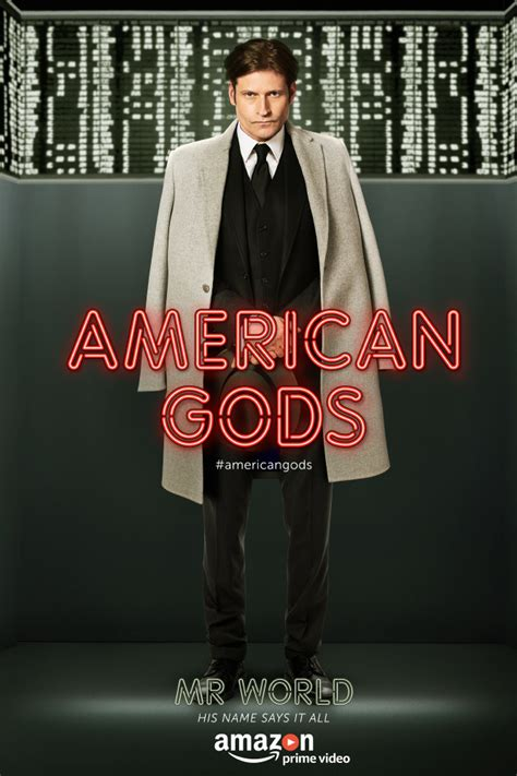american gods tv tie in amazon co uk neil gaiman american gods 10 stunning new character posters revealed