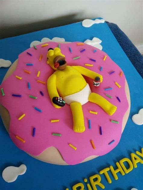 simpsons kuchen 23 bolos incr 237 veis inspirados nos simpsons